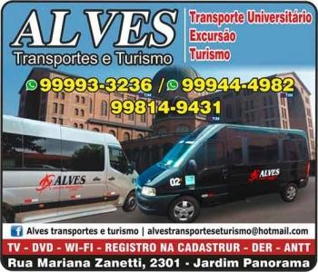 ALVES TRANSPORTE UNIVERSITARIO E TURISMO