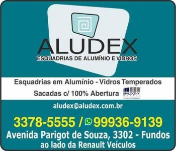 ALUDEX ESQUADRIAS EM ALUMÍNIO E VIDROS VIDRAÇARIA