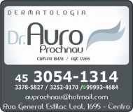 CLÍNICA DE DERMATOLOGISTA AURO PROCHNAU / DERMATOLOGIA / DOENÇAS DE PELE