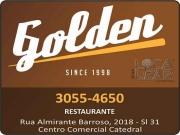 Cartão: GOLDEN RESTAURANTE