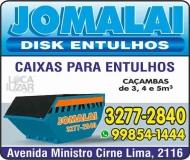 JOMALAI ENTULHOS E TERRAS