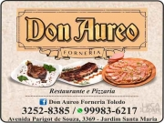 Cartão: DON AUREO PIZZARIA e RESTAURANTE