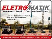 Cartão: ELETROMATIK MONTAGEM ELÉTRICA E AUTOMAÇÃO INDUSTRIAL 222