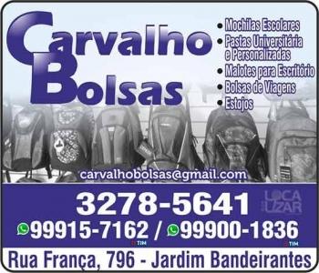 CARVALHO FÁBRICA DE BOLSAS, MOCHILAS E BRINDES
