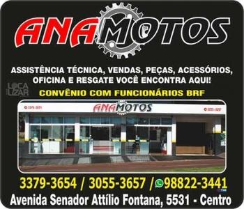 ANAMOTOS MECÂNICA DE MOTOS