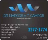 MARCOS VINICIUS TAMURA CAMPOS Dr. Cirurgião Dentista ODONTOLOGIA