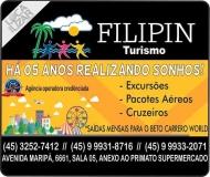 FILIPIN TURISMO AGÊNCIA DE VIAGENS