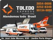 Cartão: TOLEDO EXPRESS ENCOMENDAS E TRANSPORTADORA JAD LOG