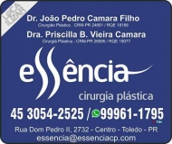 CLÍNICA DE CIRURGIA PLÁSTICA JOÃO PEDRO CAMARA FILHO / BOTOX E SILICONE / LIPOASPIRAÇÃO / ESSÊNCIA
