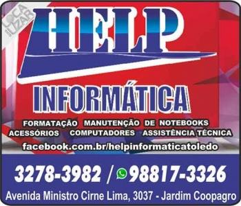HELP INFORMÁTICA E ASSISTÊNCIA TÉCNICA