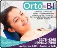 ORTO-BI  ODONTOLOGIA Clínica Odontológica Cirurgiã Dentista