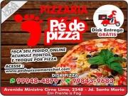 Cartão: PÉ DE PIZZA PIZZARIA DISK PIZZA