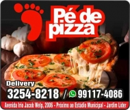 PÉ DE PIZZA PIZZARIA DISK PIZZA