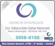 CLÍNICA DE OFTALMOLOGISTA TATIANA SATO DAHER MARTYNETZ / GLAUCOMA / MIOPIA