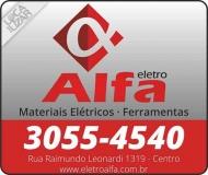 ELETRO ALFA MATERIAIS ELÉTRICOS