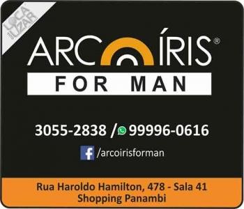 ARCO-ÍRIS FOR MAN LOJA