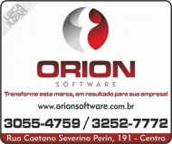 ORION SOFTWARE SISTEMAS