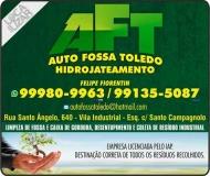 TOLEDO AUTOFOSSA DESENTUPIDORA DE FOSSAS