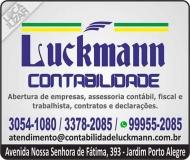 LUCKMANN CONTABILIDADE ESCRITÓRIO CONTÁBIL