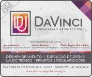 DAVINCI ENGENHARIA CIVIL E ARQUITETURA