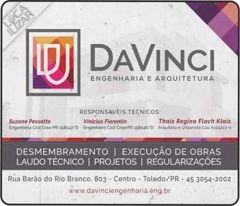 ENGENHARIA CIVIL E ARQUITETURA DAVINCI