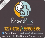 CLÍNICA DE FISIOTERAPIA E REABILITAÇÃO POSTURAL / RPG / REAB PLUS