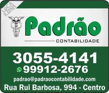 PADRÃO CONTABILIDADE ESCRITÓRIO CONTÁBIL