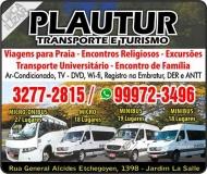 PLAUTUR TRANSPORTE UNIVERSITÁRIO E TURISMO