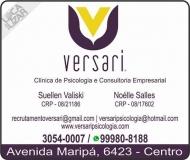 CLÍNICA DE PSICOLOGIA NOÉLLE SALLES / PSICÓLOGA / CONSULTORIA EMPRESARIAL VERSARI