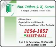 DÉBORA S K LARSEN Dra. Cirurgiã Dentista