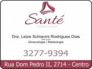Cartão: CLÍNICA DE GINECOLOGIA CENTRO CLÍNICO SANTÉ
