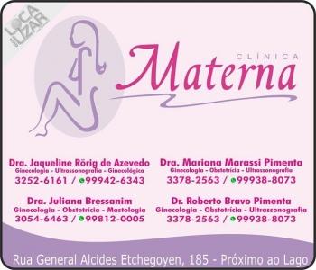 CLÍNICA DE GINECOLOGISTA OBSTETRÍCIA / MASTOLOGISTA / MATERNA