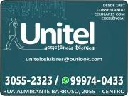 Cartão: UNITEL CONSERTOS DE CELULARES