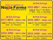 Cartão: NOSSA FARMA FARMÁCIA