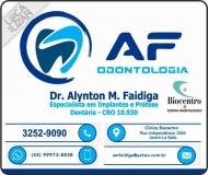 AF ODONTOLOGIA Clínica Odontológica e Cirurgião Dentista