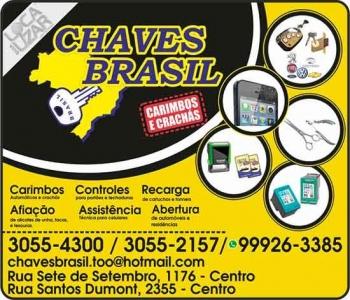CHAVES BRASIL CHAVEIRO CARIMBOS & CRACHÁS