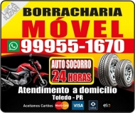 BORRACHARIA MÓVEL 24 H SERVIÇOS A DOMICÍLIO
