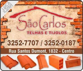 SÃO CARLOS TELHAS E TIJOLOS