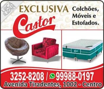 EXCLUSIVA CASTOR COLCHÕES MÓVEIS E ESTOFADOS