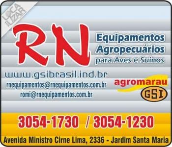 RN EQUIPAMENTOS AGROPECUÁRIOS PARA AVES E SUÍNOS
