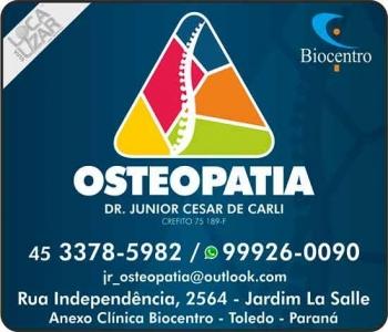 OSTEOPATIA DR. JUNIOR CESAR DE CARLI