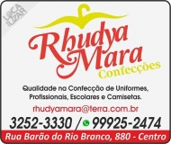 RHUDYA MARA CONFECÇÕES E UNIFORMES LOJA