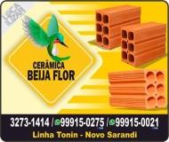 BEIJA FLOR CERÂMICA E TERRAPLANAGEM  MATERIAIS DE CONSTRUÇÃO