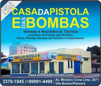 CASA DA PISTOLA E DAS BOMBAS
