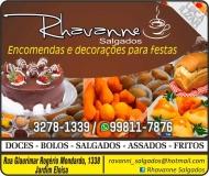 RHAVANNE SALGADOS / BOLOS E DOCES