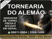 Cartão: TORNEARIA DO ALEMÃO