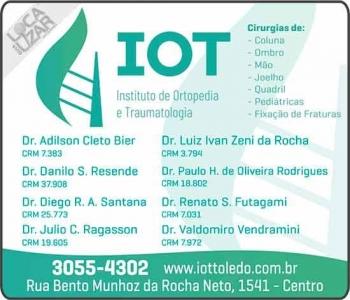 CLÍNICA DE ORTOPEDISTA ADILSON CLETO BIER / TRAUMATOLOGIA / CIRURGIA DE OMBRO / JOELHO / QUADRIL / IOT