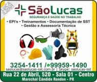 SÃO LUCAS SEGURANÇA E SAÚDE DO TRABALHO - EPI'S