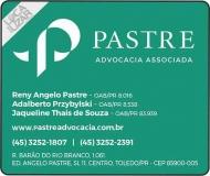 PASTRE ADVOCACIA ASSOCIADA