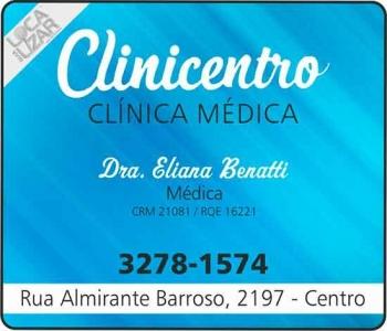 CLINICENTRO CLÍNICA MÉDICA DRA. ELIANA BENATTI